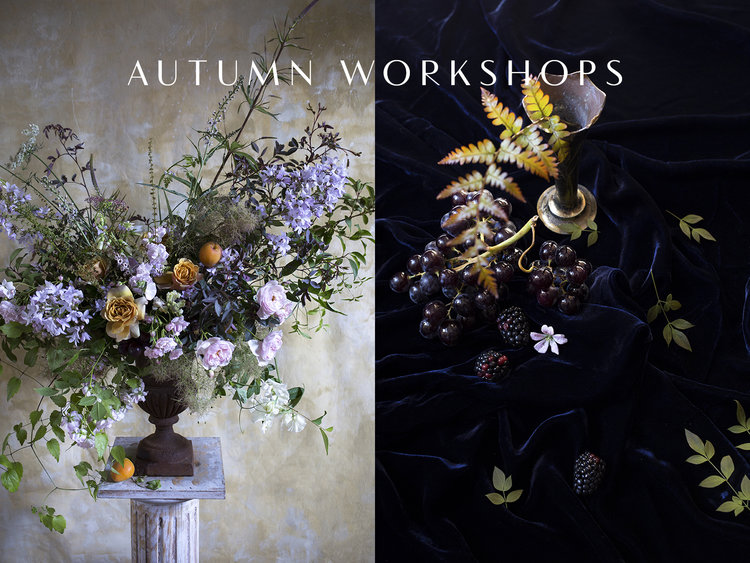 Aesme Flowers | Autumn Flower Arranging Workshops