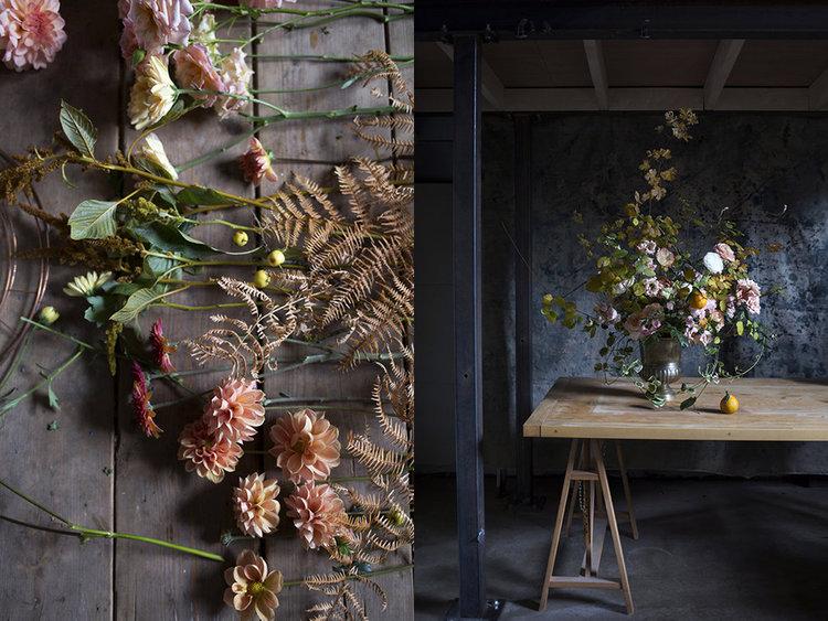 Aesme Flowers | Autumn Flower Arranging Class
