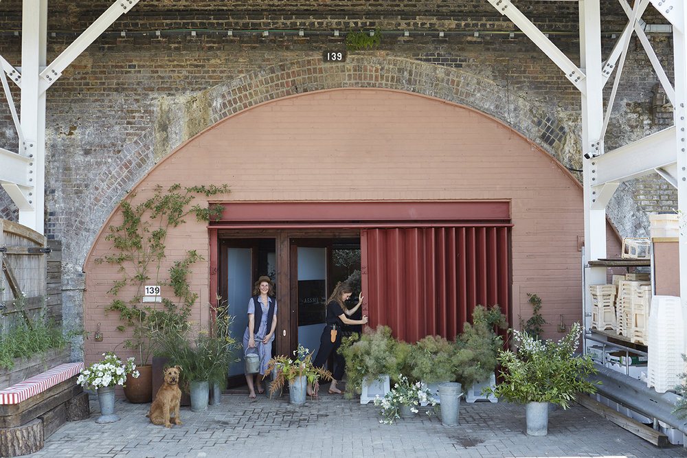 Aesme Flower Studio in Shepherd's Bush West London photographed by Kristin Perers