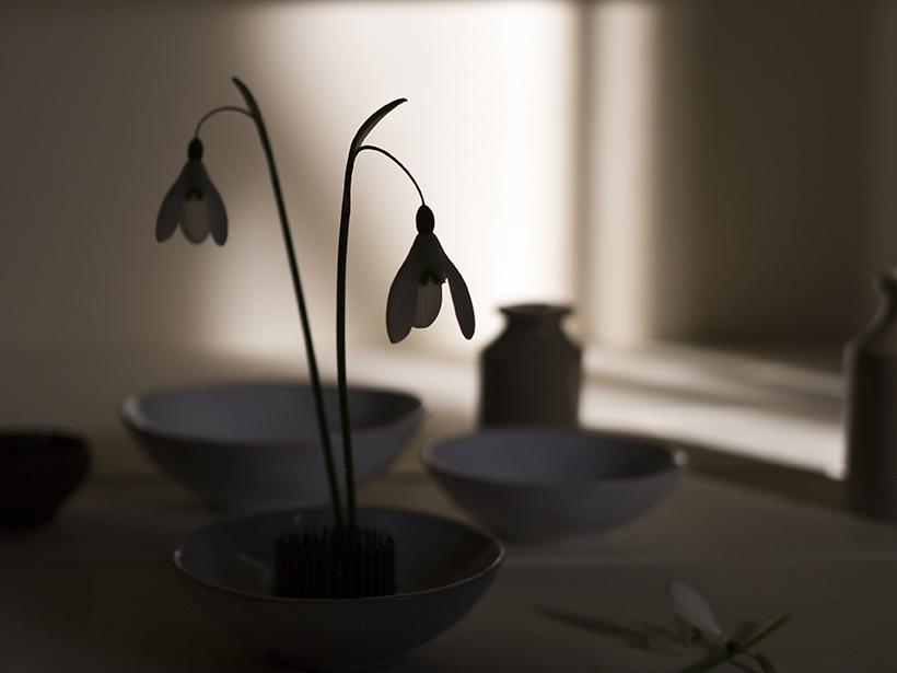 Snowdrop flower arrangements | Aesme Studio London