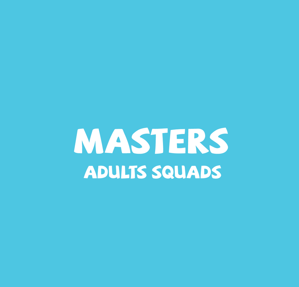 Adult squads are for those who  can swim  and who wish  to keep fit.   A class size is a maximum of 7 swimmers per lane and is of 45 minutes duration.   quads are at Old Mutual Gym & The Powder Mill ONLY