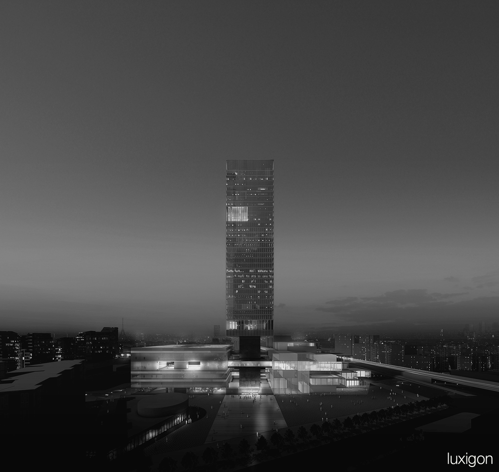 OMA - Futur Palais de Justice - Paris, FR