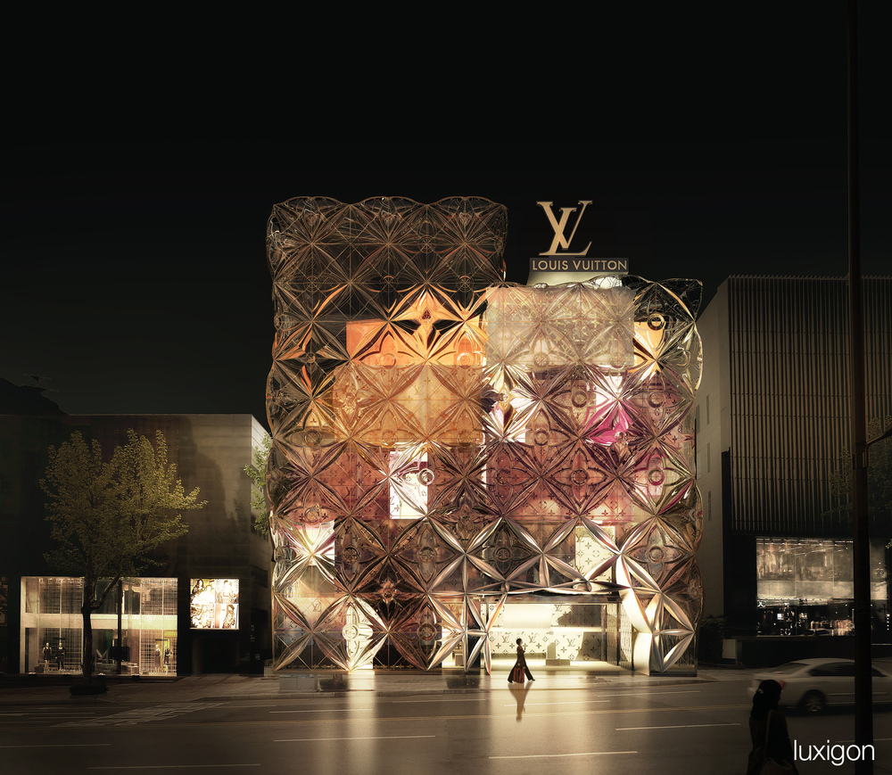 MANUELLE GAUTRAND - Louis Vuitton Store – Seoul, KR