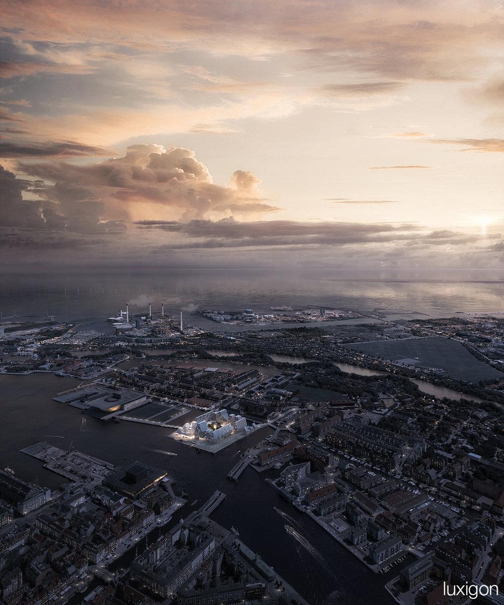 KENGO KUMA - Waterfront Cultural Centre - Copenhagen, DK