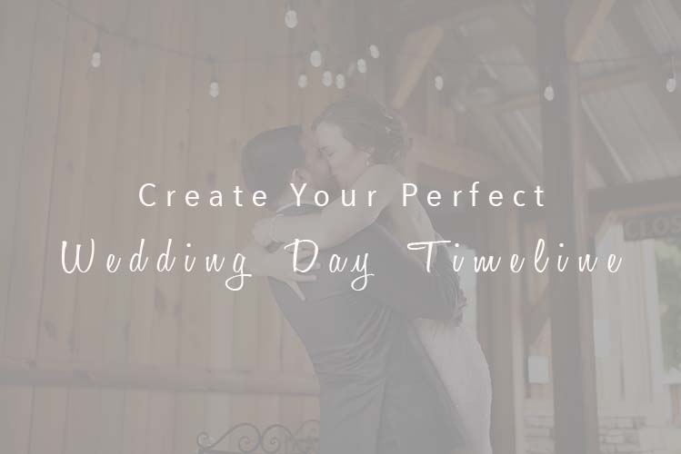 Create Your Perfect Wedding Day Timeline With These Tips | www.alielizabethphotography.com