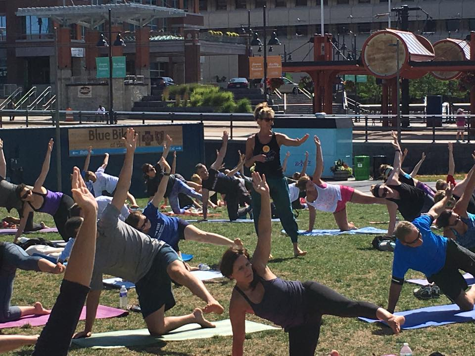 Chances are, you have visited Niawanda Park to enjoy the bike path, explore the rocks along the shore, or enjoy a tasty cone at Mississippi Mudds. But…have you ever taken a yoga class there? Roll out your mat in front of the  Niawanda Park band shelter every Tuesday at 6pm  and enjoy an all-levels yoga practice with a gorgeous view of the Niagara river. Our Soma yoga instructors will have you leaving breathing easy and thinking clearly.  Not a Northtowner? Then hop on down to the waterfront at  5:30  join your favorite Soma instructors at the crown jewel of Buffalo,  Canalside . Roll out your mat for an all-levels class, and drink in the beauties of Lake Erie and the developments happening all around this special space downtown. Be sure to stop and see the sights after class by walking the boardwalk, marveling at the history, and maybe even stopping by Liberty Hound for a snack or cocktail!