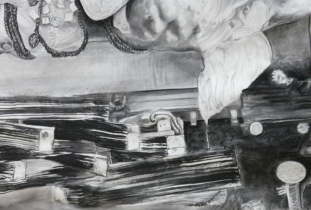 Detail of JEFFERSON MARSYAS (skin flap)