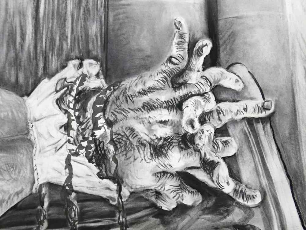 Detail of JEFFERSON MARSYAS (cuffs)