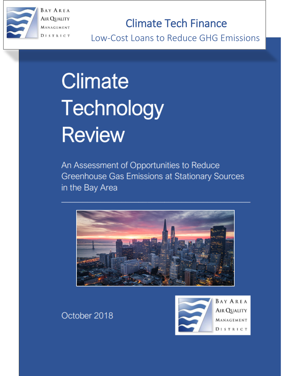 California Agency Uses Energetics Climate Technology Review To