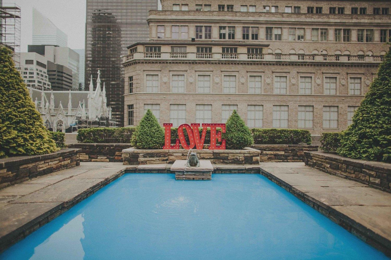 620 loft garden rooftop nyc wedding - 620 Loft And Garden