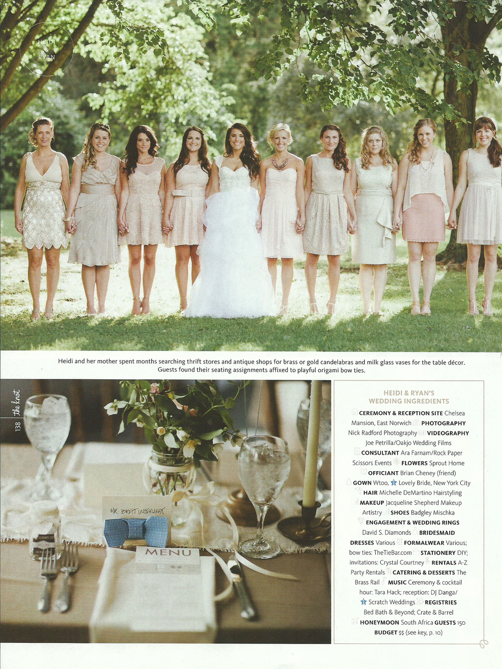 blush-bridesmaid-dresses-bow-tie-placecard