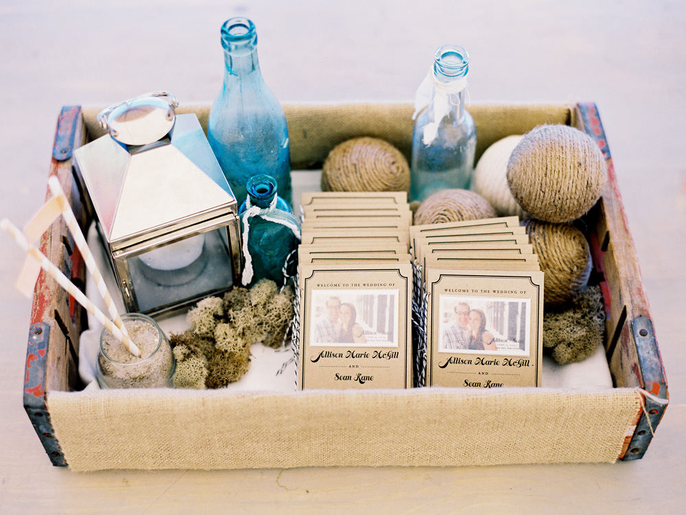 cute-beach-chic-wedding-program-photo