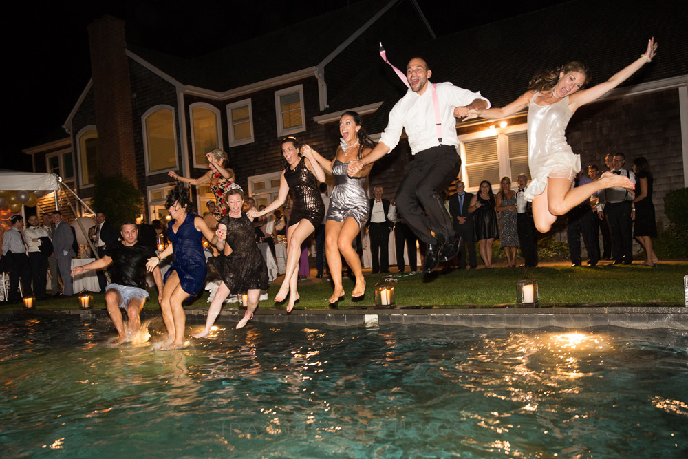 wedding-party-jumping-into-pool-party