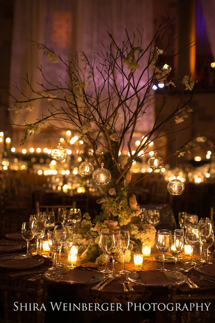 tree-centerpiece-wedding-enchanted-glamorous-gotham-hall