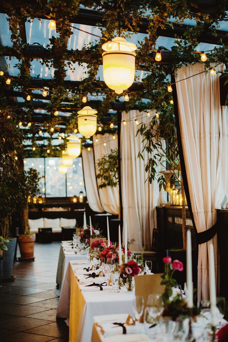 Jess + Dan // Black Tie Glamour // GRAMERCY PARK HOTEL