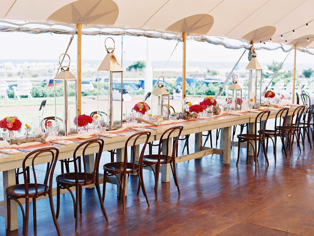 beach-wedding-head-table-sperry-tent-silver-lanterns-oversize