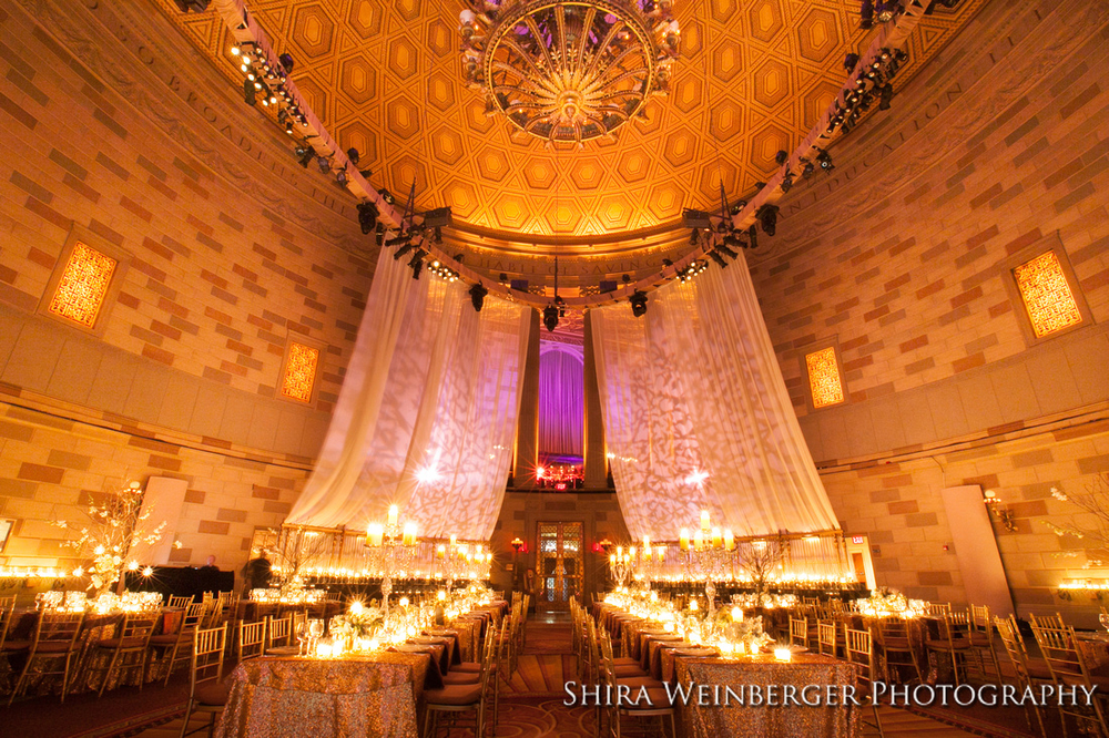 Allison + Michael  //  Enchanted Sophistication  //  GOTHAM HALL