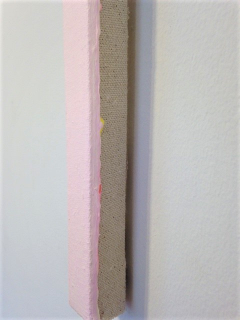 Untitled (Flourescent Pink / Hansa Yellow Light) (detail)