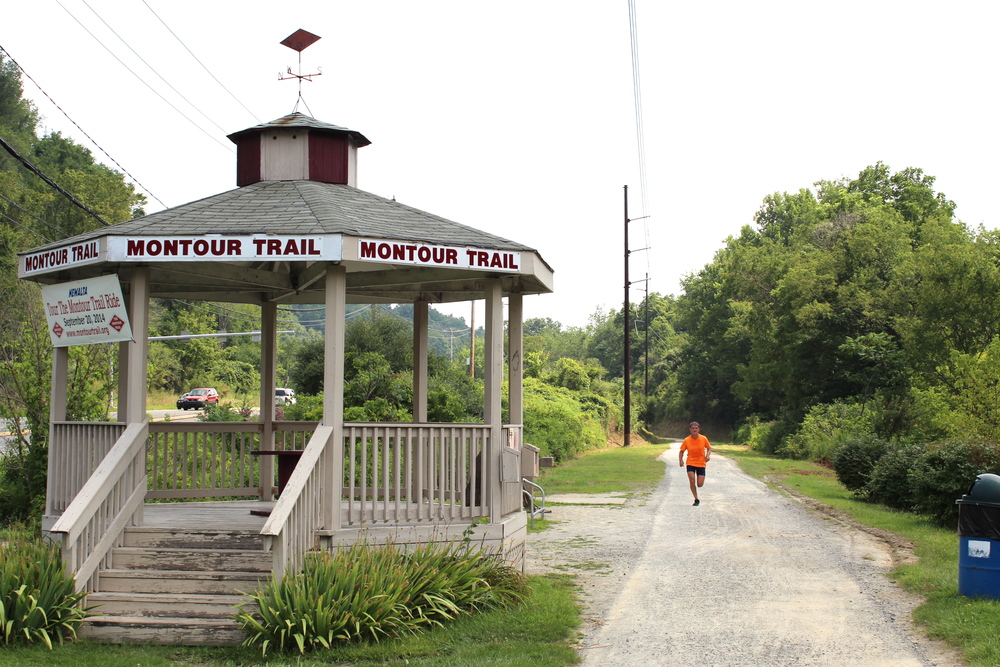 Gazebo on Montour Trail