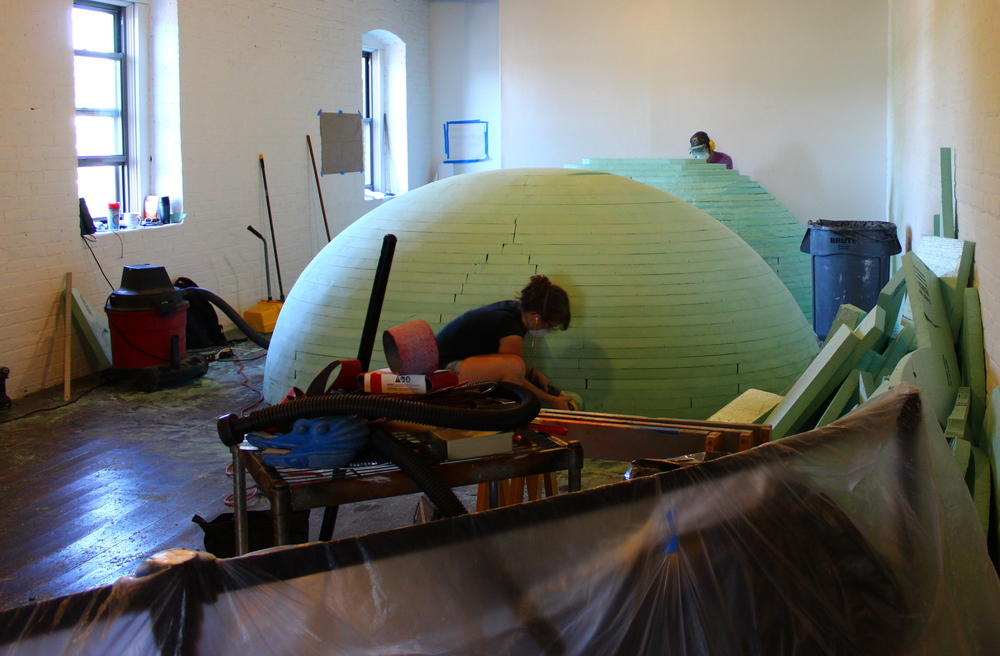 Creation taking place at Mattress Factory