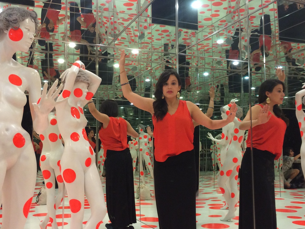 More fun at the Mattress factory with Lu Curates and Dominic LuVisi