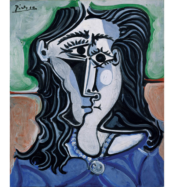 Picasso's 'Head of a Woman' (1960)   ©2014 Succession Picasso/Artist Rights Society (ARS), New York