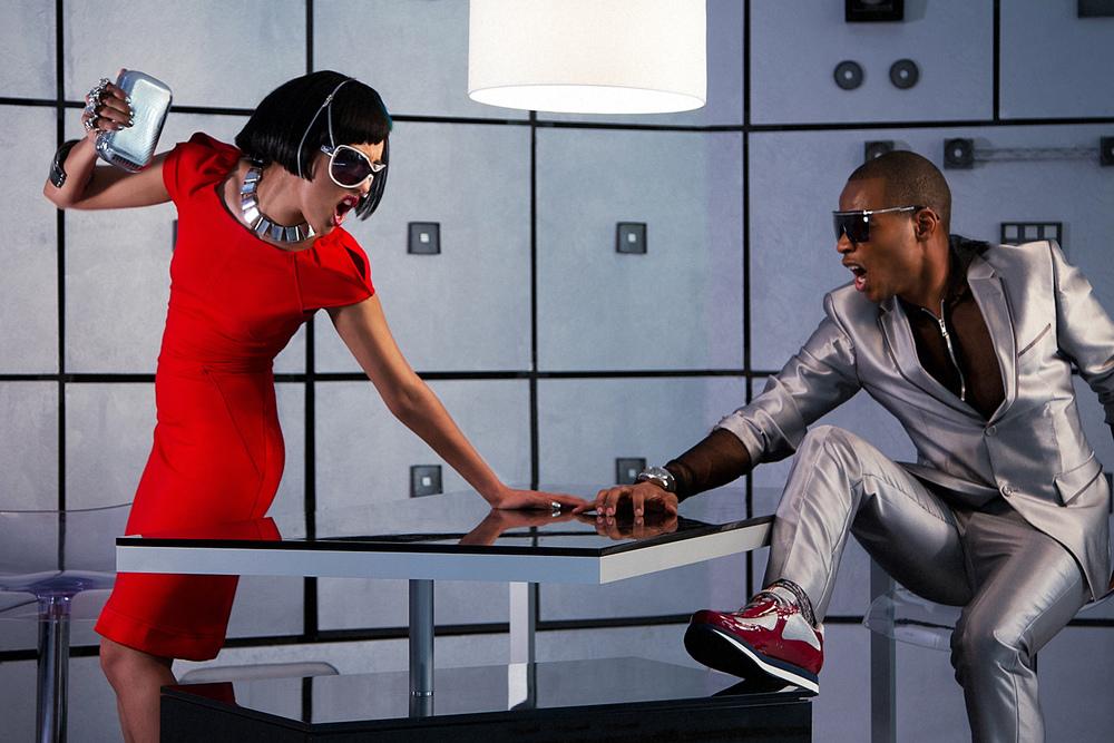 Futuristic fashion story shot for Styleline Magazine