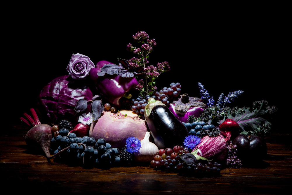 Blue and Purple foods as the second installment of our  Chromatic Cornucopia series.  It's a still life series focused on particular colors, previously we did a green food shoot and this series will continue. Styled by Madalyn Knebel, shot and edited by FYT Productions.