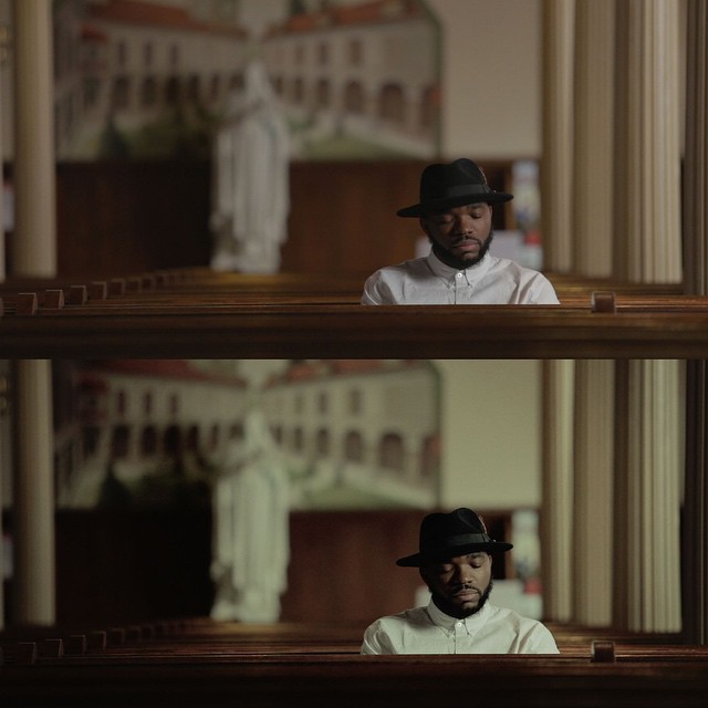 Working on the color grade for a @sothekid music video. Top is original footage, bottom has the grade applied.