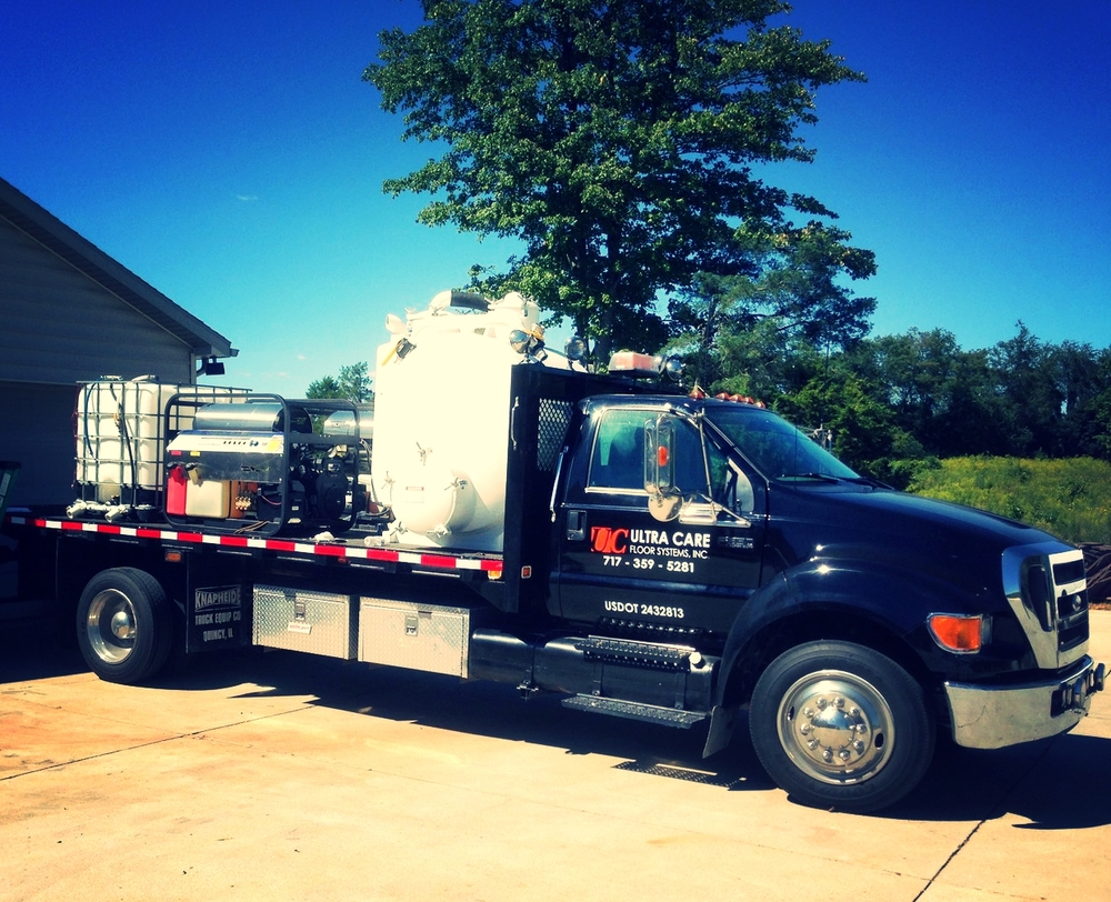 Our Steam Cleaning Reclamation & Sanitation Unit