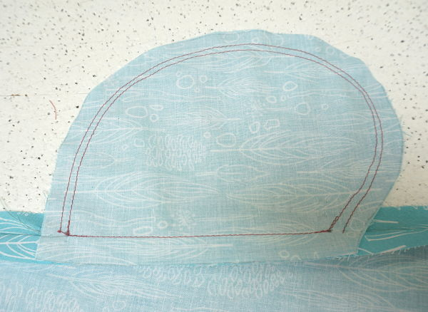 Franklin dress Sew Along stitch pocket bag Day 4