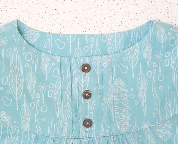 Franklin Dress Sew Along buttons Day 6