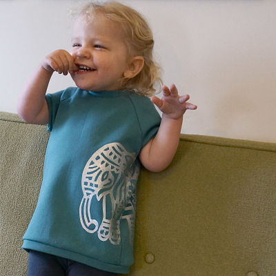 Wild Things Raglan Tunic