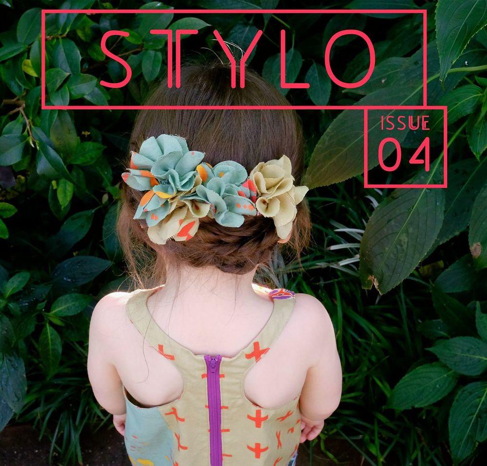 Stylo cover logo