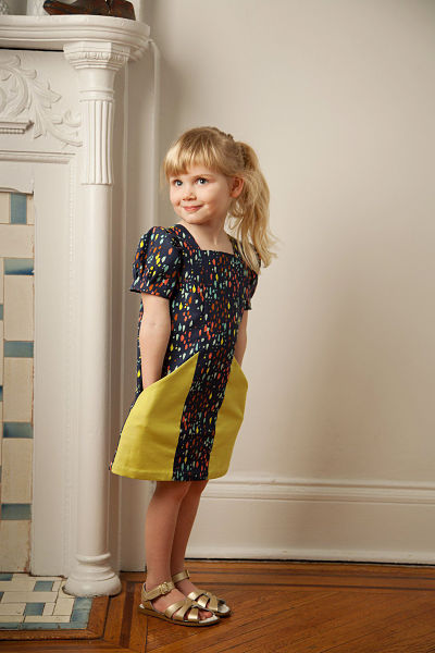 Henry dress front