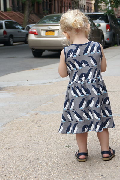 Penguin dress back KCW