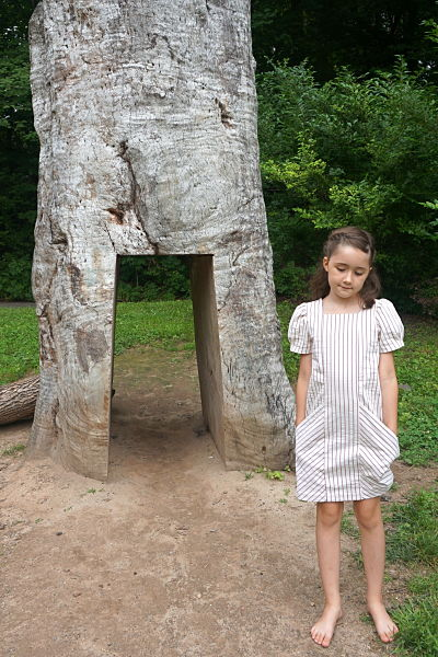 Henry dress cut out tree