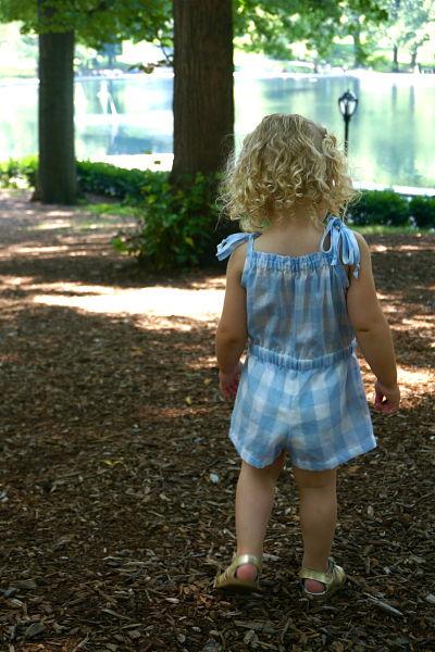 Alice in Wonderland romper