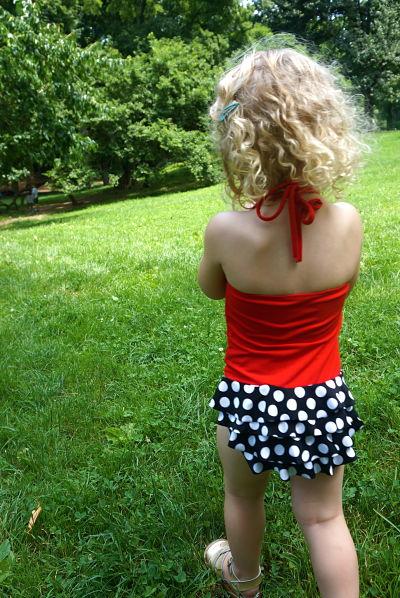 Alice in Wonderland swimsuit