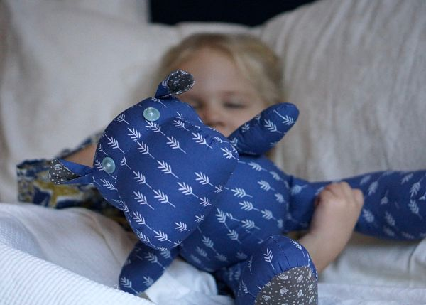 Forest Fables sleeping hippo