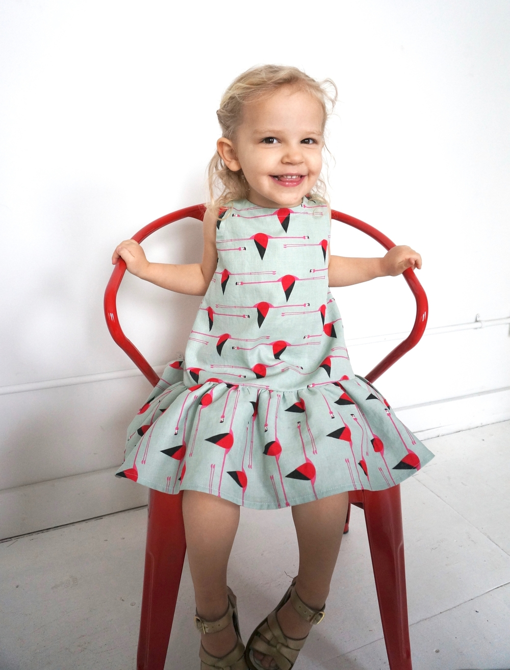 Charlie dress seated