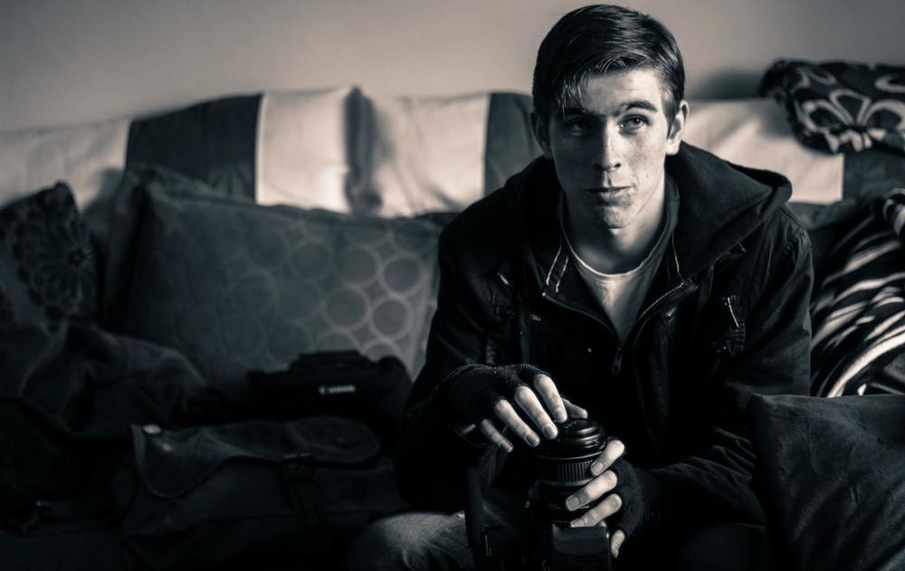 "Andrew Jordan On the set of ""Ceol"" (2012)"