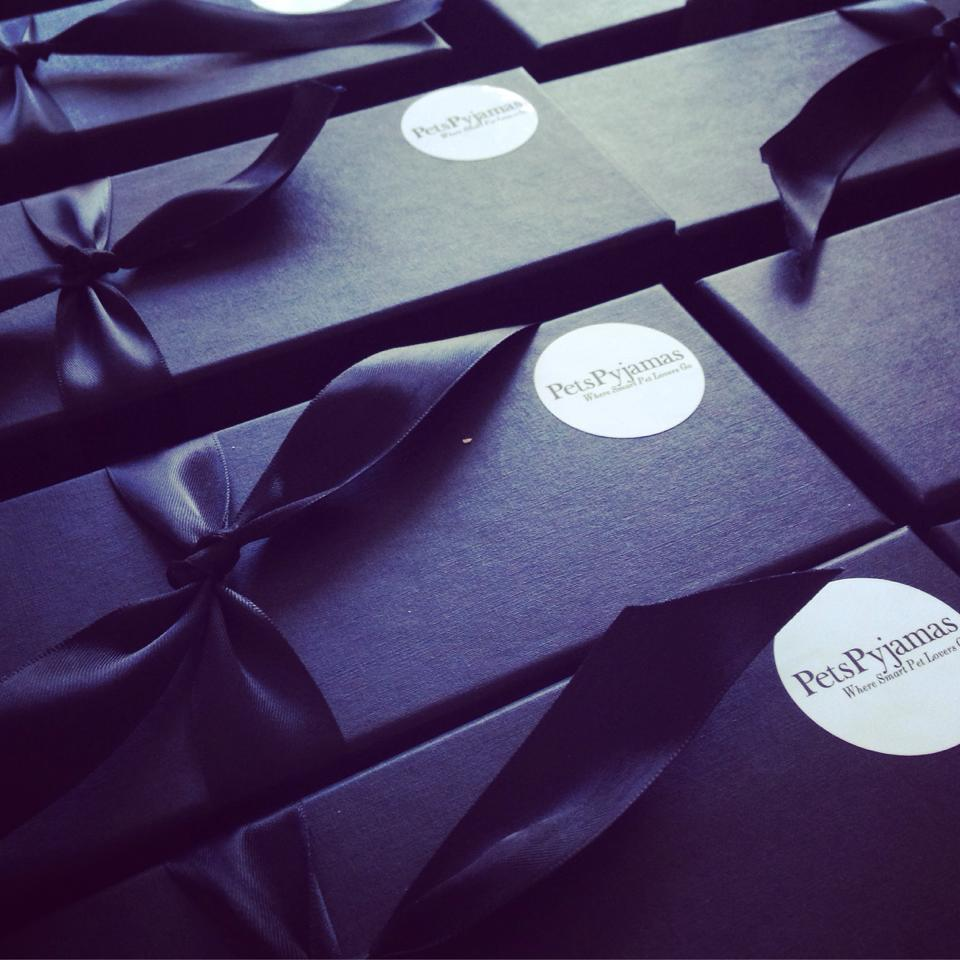 Corporate Bespoke Brownie Box to match your company colours and logo