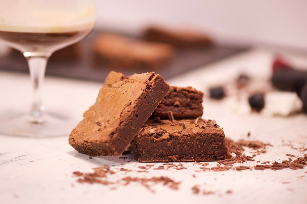 Boozy Brownies - We have a range of different flavours and boxes available. Visit the shop for more details.