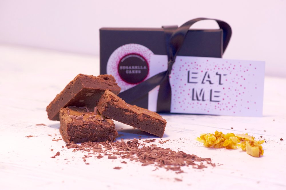 Honeycomb Brownies-To see our range of brownie gift boxes and subscription brownies,visit our shop