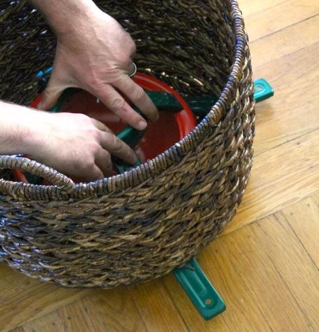 Christmas Tree Basket Stand Make Haus