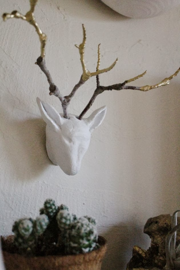 DIY Young Buck Sculpture