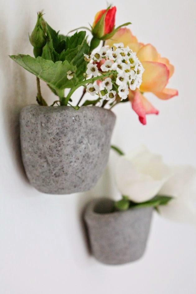 Wall Mounted Pinch Pots // Poppy Haus