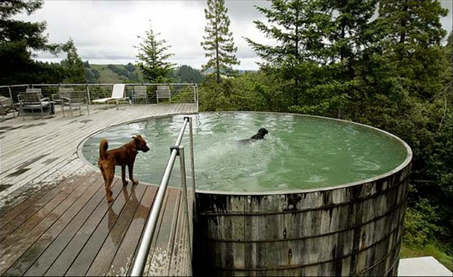 Galvanized Soaking Pool // Poppy Haus