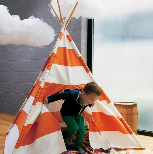 Striped Teepee- Land of Nod